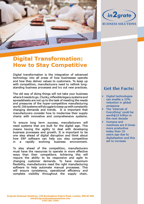 Digital Transformation: How to Stay Competitive in the Fresh Produce Industry