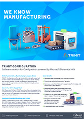 TRIMIT configuration: We know manufacturing