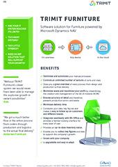 TRIMIT furniture: Fact sheet